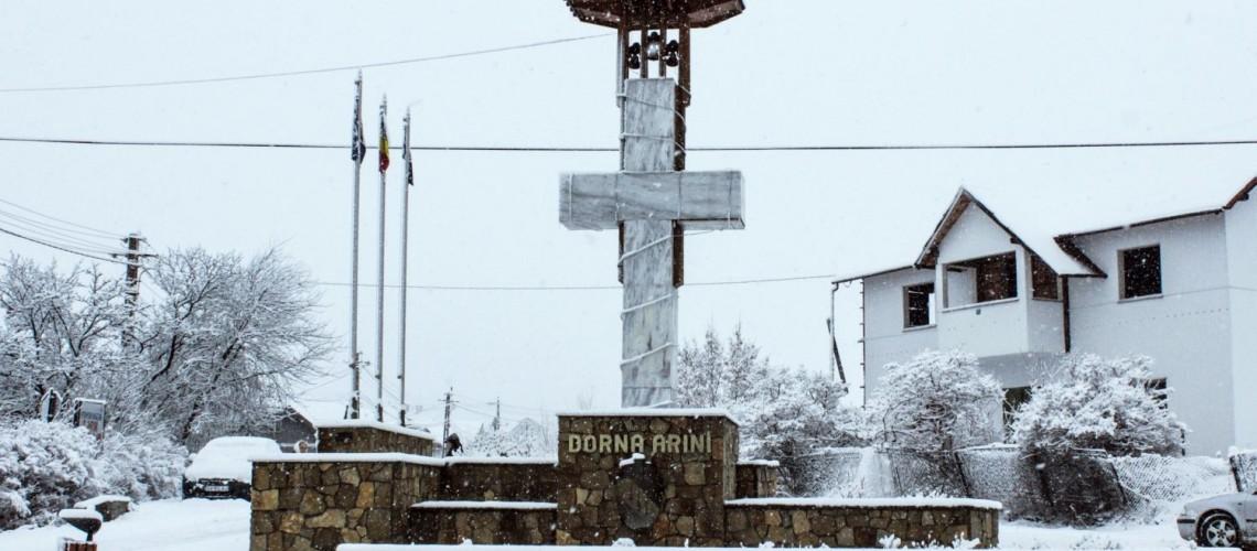 [Video] Iarna în comuna Dorna Arini