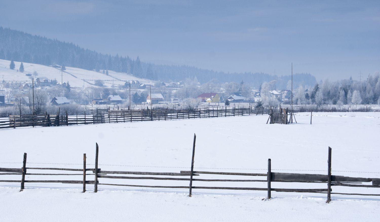 [Galerie foto] Peisaje de iarnă la Coșna