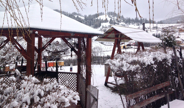 Ninge în Țara Dornelor! La Vatra Dornei este zăpadă!