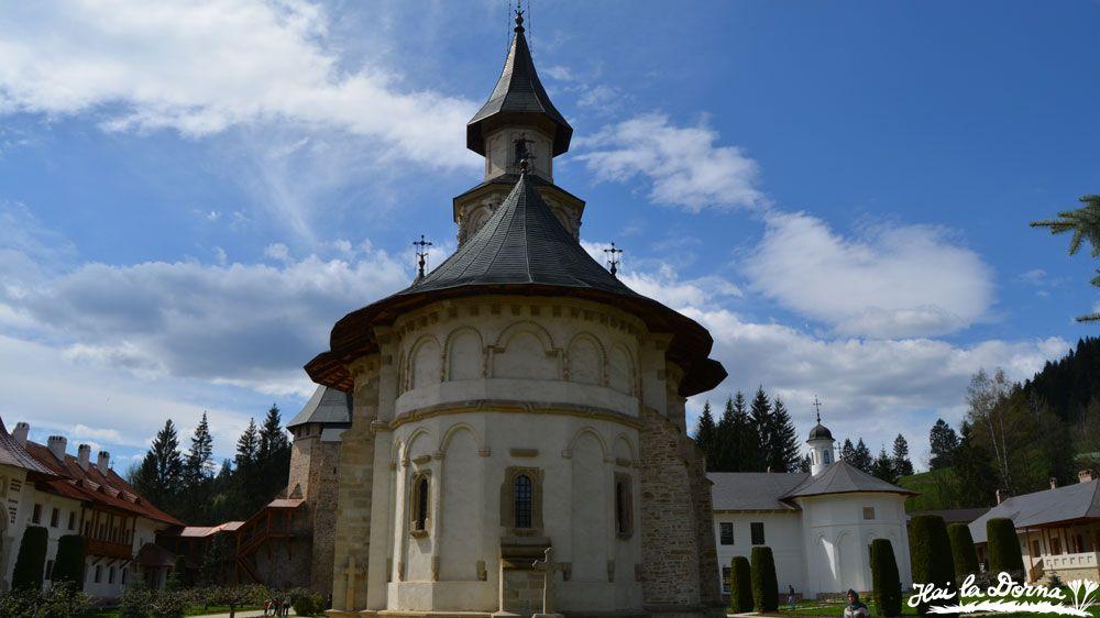 Mănăstirea Putna, vedere din incintă