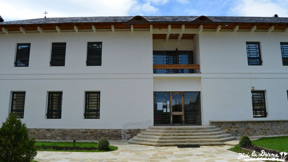 Muzeul din incinta Mănăstirii Putna