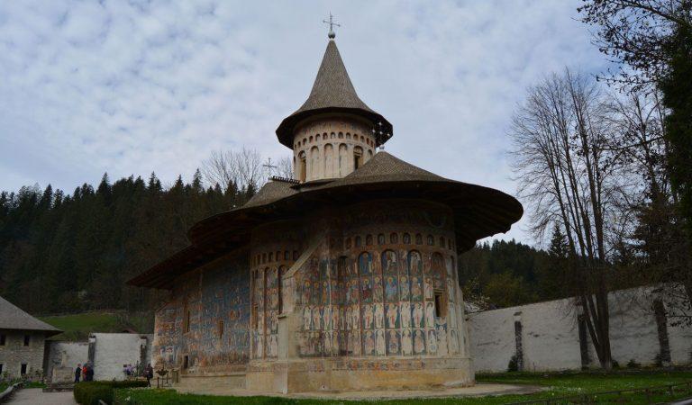 Vizită la Mănăstirea Voroneț