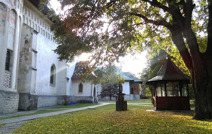 Mănăstirea Sf. Ioan cel Nou din Suceava Exterior