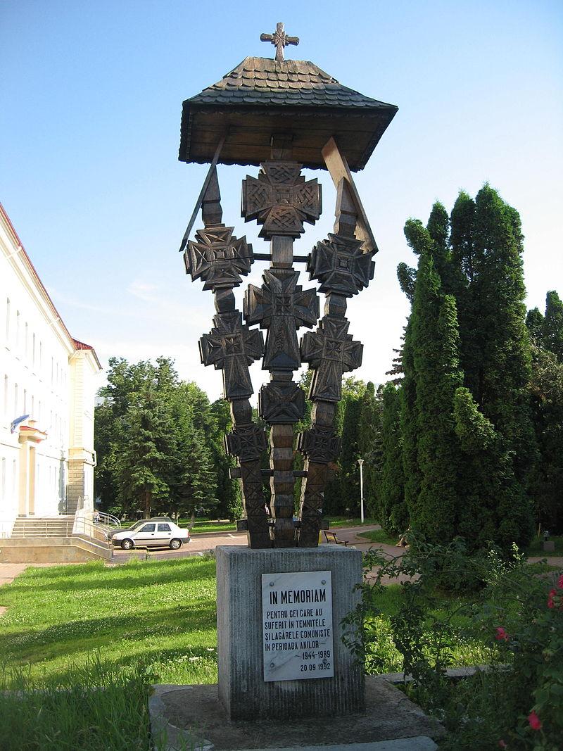 Placă memorială la Palatul de Justiție din Suceava