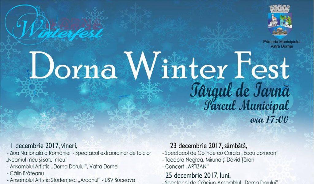 Dorna Winter Fest 2017, Dorna WinterFest 2017, Vatra Dornei, evenimente în Vatra Dornei, Dorna WinterFest, Dorna Winter Fest, festivalul de iarnă de la Vatra Dornei