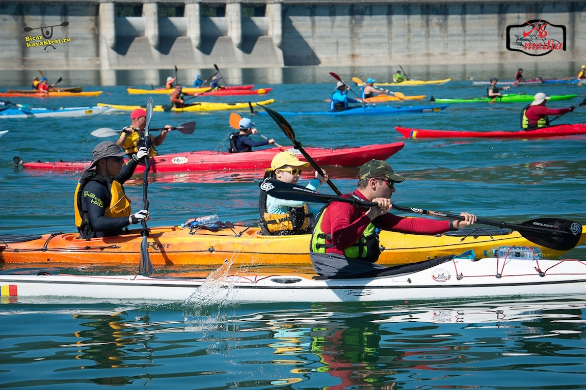 Bicaz Kayak Fest – cel mai mare eveniment sportiv dedicat comunității caiaciste din România