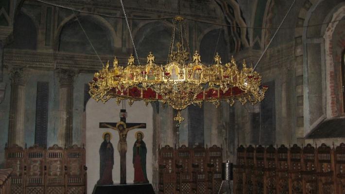 Mănăstirea Râșca - Arhitectura
