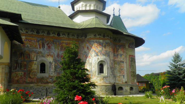 Mănăstirea Râșca - Pictura